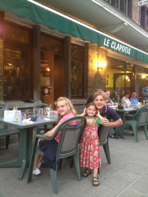Restaurant à Hamoir, au bord de l'Ourthe