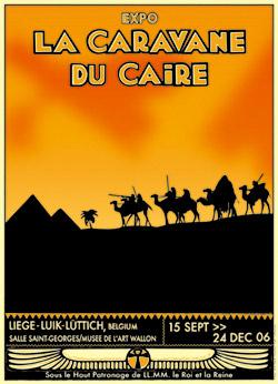 Affiche expo La Caravane du Caire