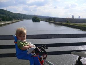 Pont sur la Meuse à Amay
