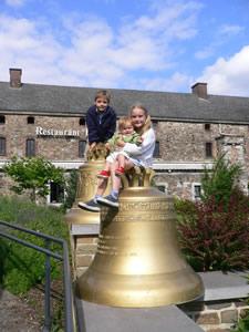 Amay : les cloches de l'ancienne église d'Ombret