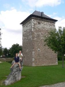 Amay : la Tour Romane