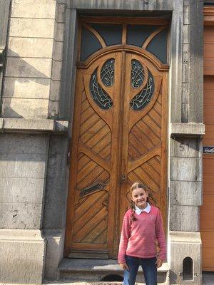Anderlecht : maison Art Nouveau