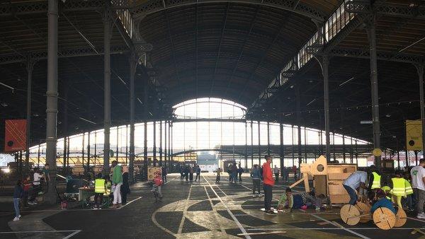 Anderlecht : la grande halle des abattoirs