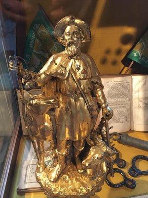 Anderlecht : statue de Saint Guidon