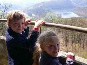 Le barrage hydroélectrique de Coo