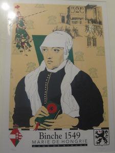 Binche : Marie de Hongrie