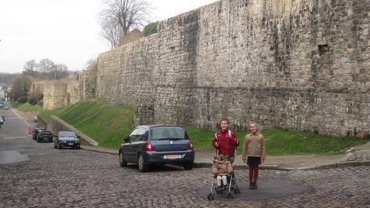 Les remparts de Binche
