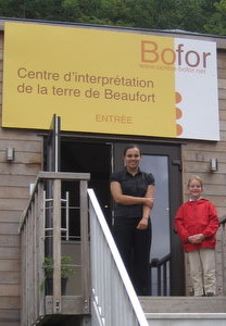 Bofor : centre  d'interprétation de la terre de Beaufort