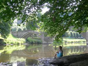 Bouillon : le pont de Cordemoy