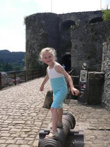 Bouillon : l'entrée du château-fort
