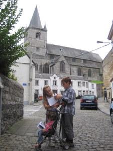 Bouvignes : l'église Saint Lambert