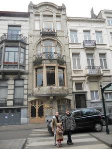 Balade art nouveau bruxelles excursion en famille for Maison deco belgique