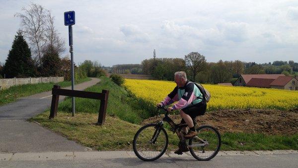 Circuit à vélo dans la Burdinale