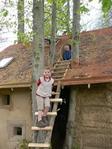 Salon de la cabane à Chevetogne
