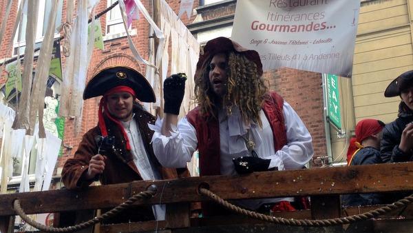 Carnaval des Ours à Andenne