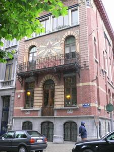 Charleroi maison Art Nouveau