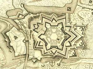 Plan de Charleroi par Vauban