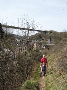 Promenade vers la Citadelle de Dinant