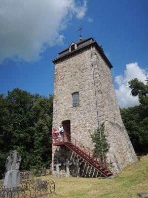 Comblain-au-Pont : la tour Saint Martin