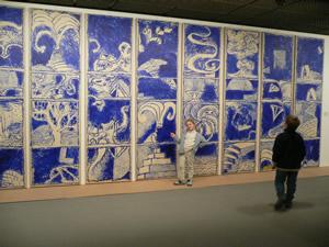 Alechinsky au mus e des beaux arts excursion en famille for Alechinsky oeuvres