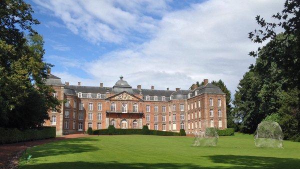 Le Roeulx : château des Princes de Croÿ