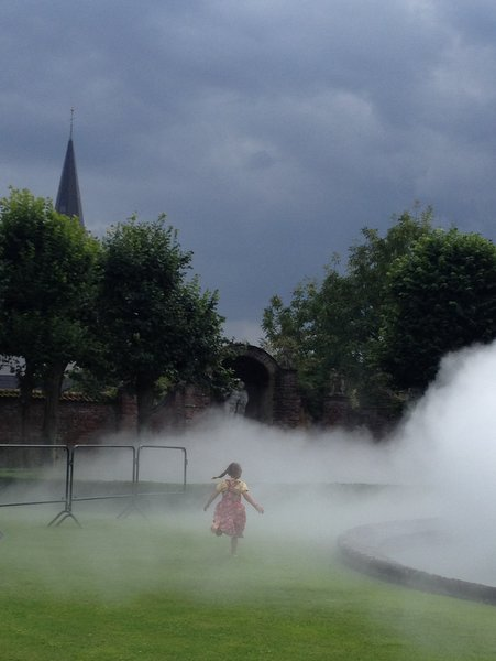 Expo Clouds au château du Roeulx