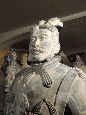 Exposition Terracotta Army à Liège Guillemins