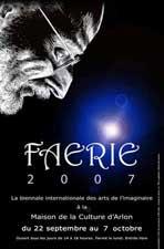 Affiche de la Faerie d'Arlon, 2007