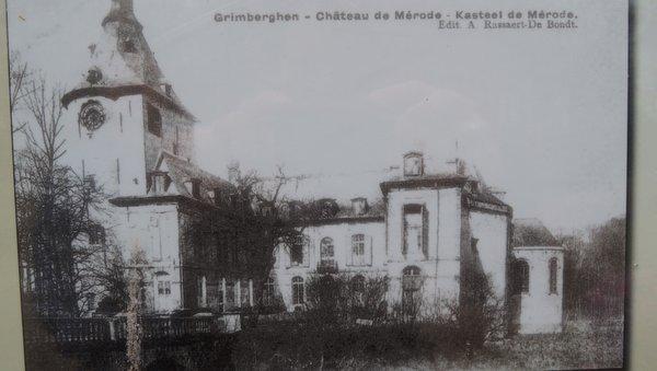 Le château des Princes de Mérode à Grimbergen