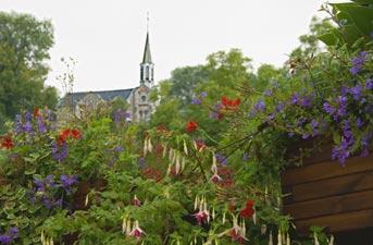 L'ermitage Saint Hadelin à Celles (Houyet)
