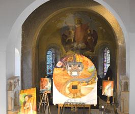 Carole Dekeijser expose à l'Ermitage