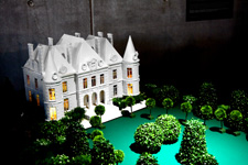 La maquette du château, Nature Extraordinary Museum, Chevetogne