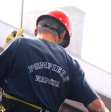 Portes ouvertes chez les pompiers de Namur