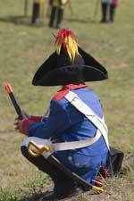 Costume militaire du folklore namurois