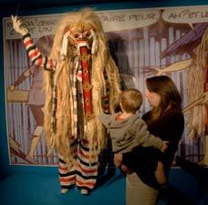 Musée du masque et du carnaval : exposition