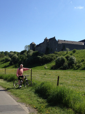 Promenade à vélo au sud de Gembloux