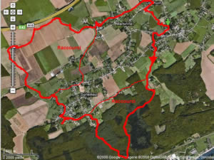 Itinéraire de la promenade de Marsinne à Wanheriffe