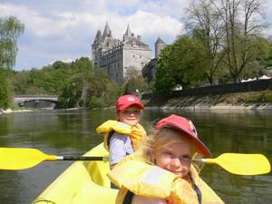 Kayak à Durbuy