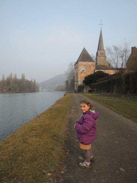 La Meuse à Godinne