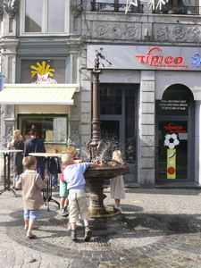 Liège : Fontaine Rue Neuvice