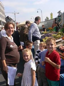 Liège : marché de la Batte