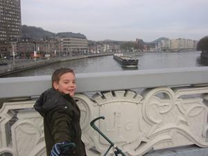 Liège, pont sur la Meuse