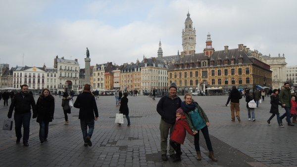 Excursion à Lille : la Grand Place