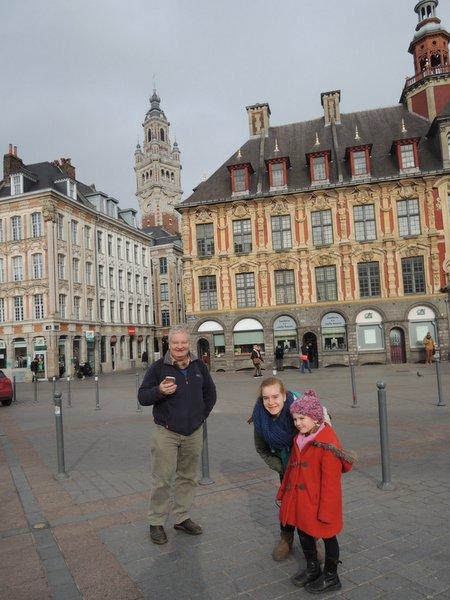Excursion à Lille : la Bourse sur la Place Général de Gaulle