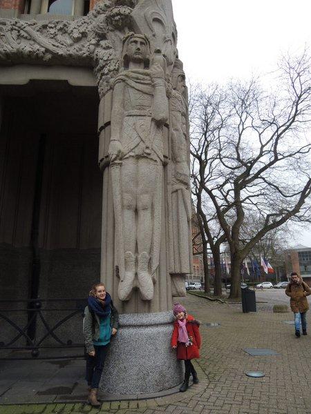 Excursion à Lille : le beffroi de l'hôtel de Ville