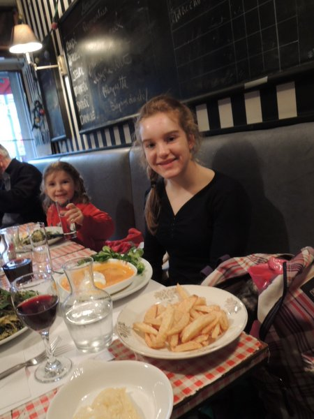 """Excursion à Lille : menu du jour """"Aux Haricots"""", Rue Gambetta"""