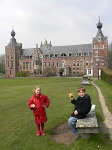 Le château d'Arenberg à Heverlee
