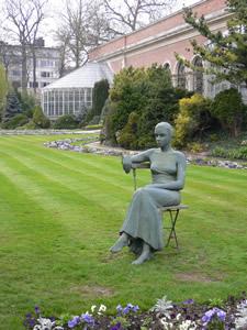 Le jardin botanique de Louvain