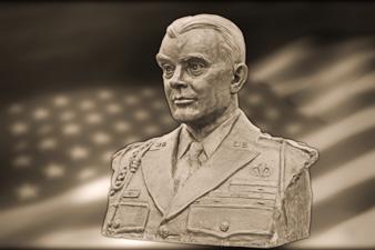 buste du générale McAuliffe