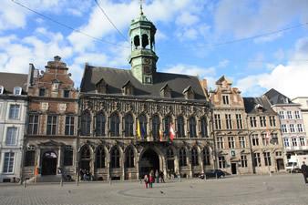 La ville de Mons
